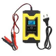 12V 6A Motorcycle Battery Charger Pulse Repair Car Cell
