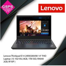 "Lenovo Thinkpad E14 20RAS06V00 14 "" FHD Laptop"