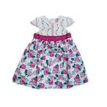 Rose summer fashion kids baby girl Cotton dress