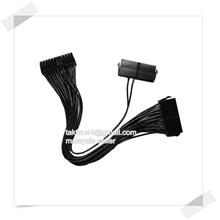 24Pin 20+4pin Dual PSU ATX Power Supply Adaptor Cable For Mining