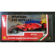 Shell Vpower Ferrari Car SF71F F1 Car Model Collection