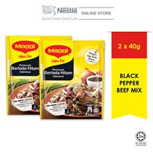 MAGGI Black Pepper Beef Mix 40g, Bundle of 2