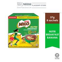 Nestle MILO Nutri Breakfast Banana 8x37g