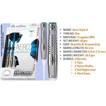 Dart 18g; Soft Tip darts; Harrows Aero SA; 2ba
