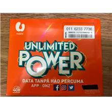 Umobile Prepaid UNLIMITED 01162337736
