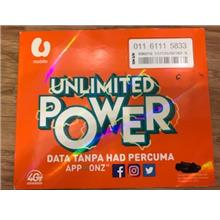 Umobile Prepaid UNLIMITED 01161115833