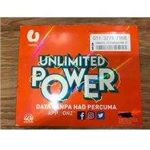 Umobile Prepaid UNLIMITED 01137717168