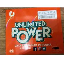 Umobile Prepaid UNLIMITED 01137799914