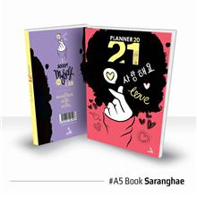 Planner Book 2021 + FREE ! School Planner - BOOK Saranghae Ready Stock