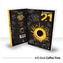 Planner Book 2021 + FREE ! School Planner - BOOK Coffee Time Ready