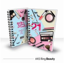 Planner Book 2021 + FREE ! School Planner - RING Beauty Ready Stock
