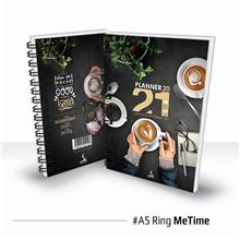 Planner Book 2021 + FREE ! School Planner - RING Me Time Ready Stock