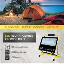 Lemax 60W Rechargeable Portable LED Flood Light (Daylight 6400K)