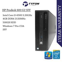 HP Prodesk 600 G2 SFF i5 4GB RAM 500GB HDD Desktop PC Computer (Refurb