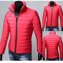 SALE!!! D.HOMME Korean Stylish Down Sweater Jacket (Red)