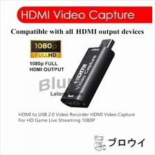 4K HDMI to USB 2.0 Video Capture 1080P HD Recorder Video Streaming