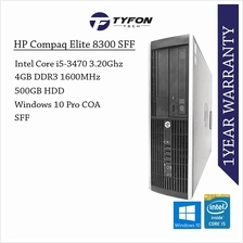 HP Compaq Elite 8300 SFF i5 4GB RAM 500GB HDD Win 10 Desktop PC Comput