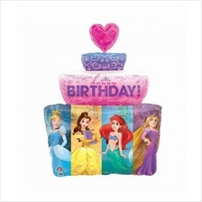 Happy Birthday Giant Disney Princess Cake Super Shape 33932