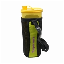 Tupperware Fridge Water Bottle (1) 2.0L (Yellow) + Pouch (Black)