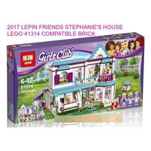 2017 FRIENDS STEPHANIE'S HOUSE LEGO 41314 COMPATIBLE BRICK