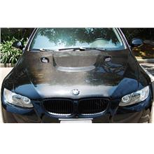 BMW 3 Series E90 '05 M3 Style Engine Hood W/ Carbon [BM03-EH01-U]