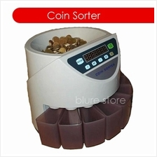 COIN COUNTER SORTER MACHINE BANKER WITH LCD DISPLAY