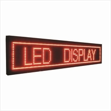 LightS indoor outdoor single red color led display P10 red led