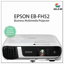 Epson EB-FH52 3LCD Full HD 1080p 4000 lumens Multimedia Projector