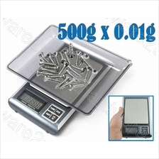 2 Function Weighing & Piece Counting Digital Scale 500gx0.01 (BL-01)