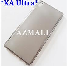 BLACK Soft Jacket Silicon TPU Jelly Case Sony Xperia XA Ultra / F3216