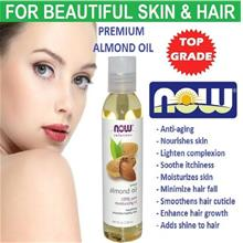 100% Pure  Sweet Almond Oil, 118 (Made in USA)