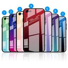 Xiaomi Redmi Note 6 Pro Gradient Color Back Case Casing Cover Glass