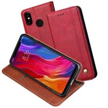 Xiaomi Redmi Note 6 7 Pro antiqueleather wallet flip case casing cover