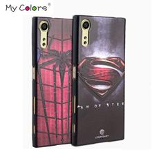 Sony Xperia XZ XZS 3D relief Silicone Case Casing Cover+Tempered Glass