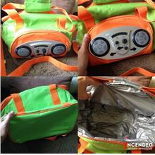 **incendeo** - Radio and Speaker Picnic/Travel Bag