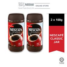 NESCAFE CLASSIC Jar 100g, Bundle of 2