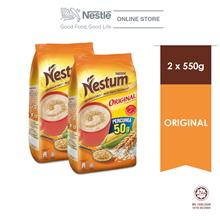 NESTLÉ NESTUM All Family Cereal Original Softpack 550g x2 packs