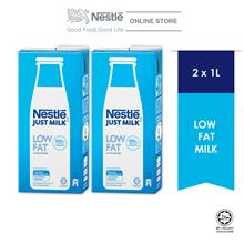 NESTLÉ JUST MILK™ Low Fat Milk 1L x2 packs
