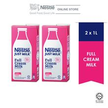 NESTLÉ JUST MILK™ Full Cream 1L x2 packs