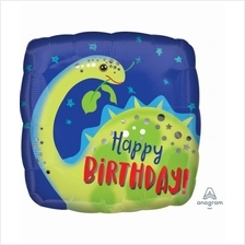 Happy Birthday Brontosaurus 17inches Foil Balloon 39627