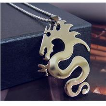 Dragon Stainless Steel Pendant Chain Games of Thrones Motif