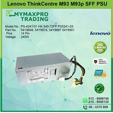 Lenovo Thinkcentre M93 M93p SFF 240W Power Supply PSU 54Y8874 54Y8897