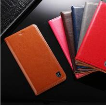 PLN Oppo F11 Pro Real Cowhide Leather wallet case casing cover