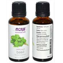 Now Foods, 100% Pure Basil Essential Oil (30ml)