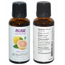 Now Foods, 100% Pure Grapefruit Essential Oil (30ml)