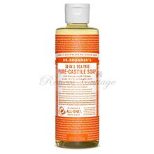 Dr. Bronner's Magic Soaps, Tea Tree Liquid Castile Soap (237ml, 473ml)
