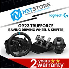 LOGITECH BUNDLE G923 TRUEFORCE Racing Wheel + G Driving Force Shifter