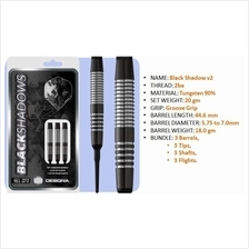 Dart 20g; Soft Tip darts; Black Shadow V2 M3; 2ba