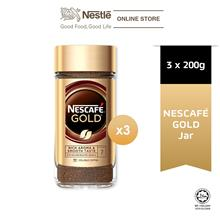NESCAFE Signature Gold Jar 200g, Bundle of 3