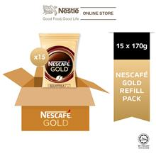 NESCAFE GOLD Refill 170g x 15 packs (Carton)